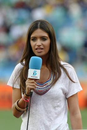 La periodista española Sara Carbonero.
