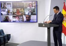 Rueda de prensa del presidente del Gobierno, Pedro Sanchez