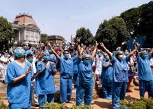 El personal del hospital de Victoria