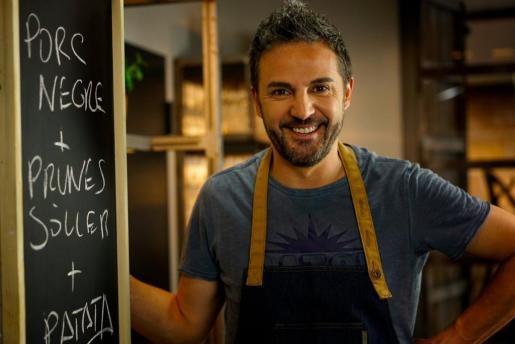 El cocinero mallorquín Santi Taura.