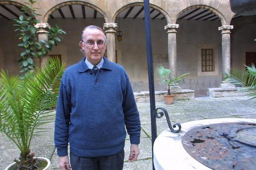 Juan Andrés Llauger, en una imagen publicada por 'Ultima Hora' en 2003.