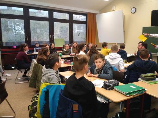 PALMA. EDUCACION. SIETE DIAS PARA COMPARTIR. Estudiantes del IES Joan Maria Thomàs y de un instituto de Baviera han participado en un intercambio escolar. MAS FOTOS EN EL DISCO DEL 19-04-2019