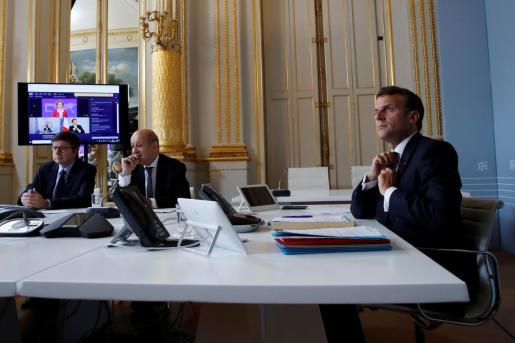 El presidente de Francia Emmanuel Macron.