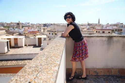 La guionista Marta Sánchez, en Palma.