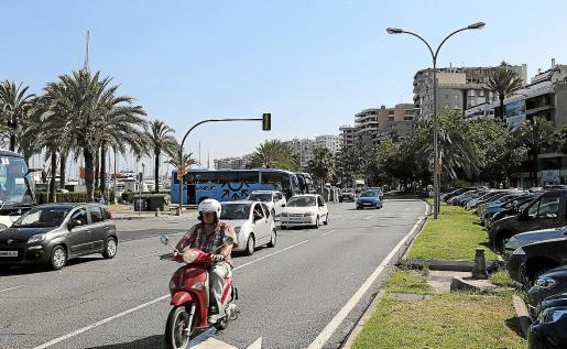 Las terrazas ubicadas en la zona del Paseo Marítimo de Palma que es competencia de la Autoritat Portuària se podrán ampliar.