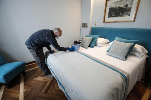 Los hoteles de Baleares ya cuentan con un protocolo de higiene y seguridad para cuando decidan abrir sus puertas.