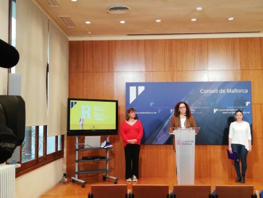 La presidenta del Consell de Mallorca, Catalina Cladera, ha presentado el plan.