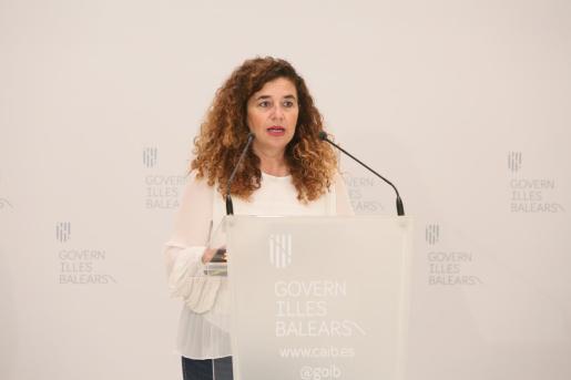 Pilar Costa, portavoz del Govern balear