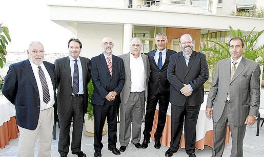 Miquel Pérez, Andreu Gómez, Vicente de Angelis, Toni Rigo, Sergio Espinosa, Guillermo Navarro y Ramón García