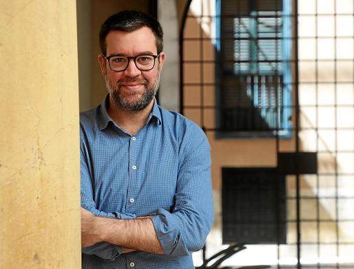 Antoni Noguera, regidor de Cultura del Ajuntament de Palma, en Can Oms.