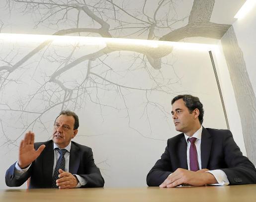 Pedro Horrach y Daniel Marchena, socios del Bufete Horrach.