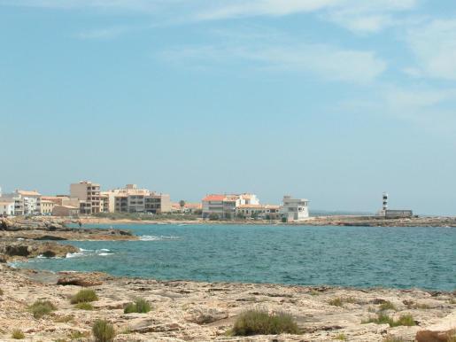 La Colònia de Sant Jordi, un enclave de numerosas segundas residencias en Mallorca.