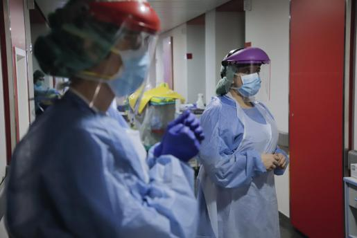 Reportatge HUSE. A la planta 2 K (Comunicació) de hospital Son Espases. (Sabrina) a les 11.