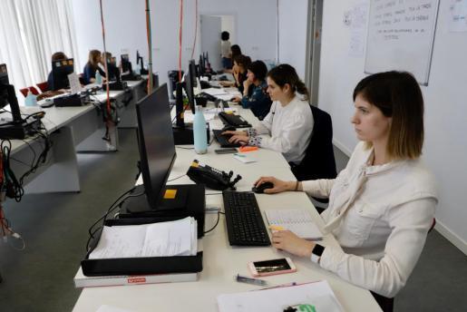 Las rastreadoras se han integrado en el centro de coordinación del Molinar, desde donde se centraliza todo.