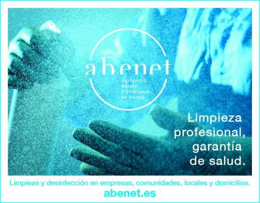 La Agrupació Balear d'Empreses de Neteja, Abenet, es especialista en limpieza y desinfección en empresas, comunidades, locales y domicilios.