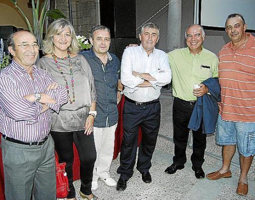 Joan Martorell, Bel Cerdà, Martí Saez, Toni Bisanyes, Felip Munar y Martí Morro.