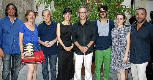 Joan Nadal, Marta Font, Pep Coll, Mónica Fuster, Pepe Cañabate, Albert Pinya, Ana Cabello y Daniel Torres.