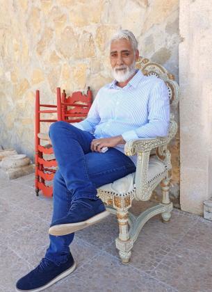 El nuevo presidente de la asociación Carlos Cortés, 'El Charly'.