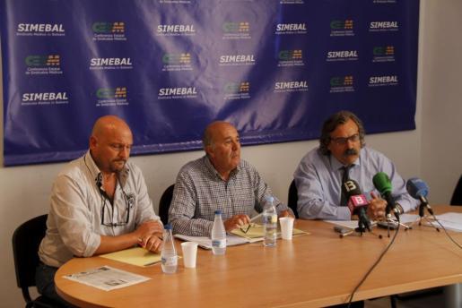 Imagen de archivo de una rueda de prensa del Sindicato Médico.