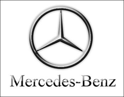Logotipo de Mercedes Benz.