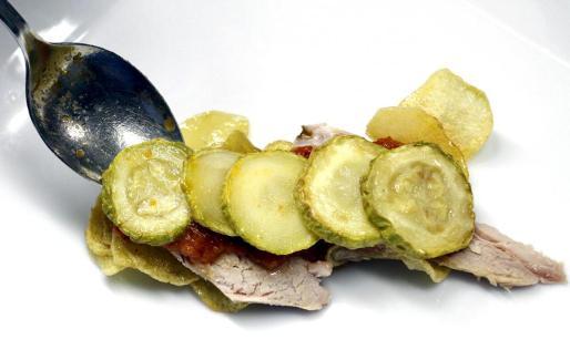 Las hortalizas y la lechona, dos ingredientes clásicos en la gastronomía de Mallorca.