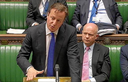 El primer ministro británico, David Cameron, pude frenar la inmigración de países como Grecia.