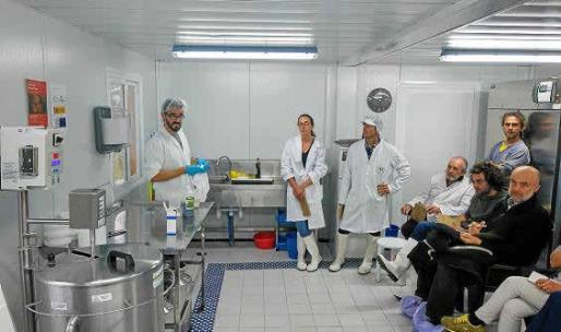 Domínguez impartió un curso invitado por la Associació de Productors Ecològics.
