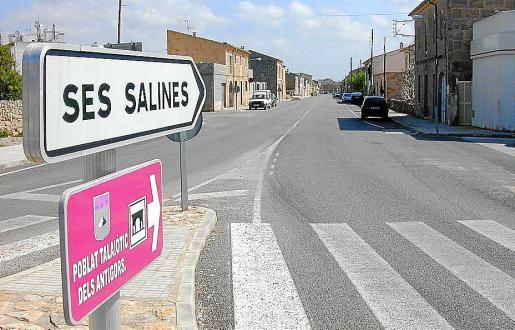 Los vecinos del municipio de ses Salines podrán saldar sus multas con trabajos sociales.