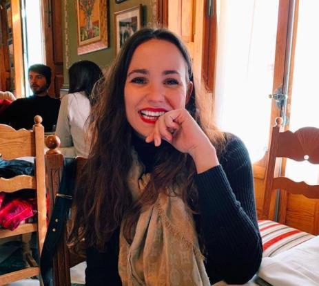 Carolina Monje, novia de Álex Lequio.