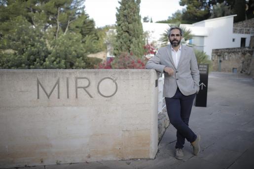 Francisco Copado, director de la Fundació Miró Mallorca, en una imagen reciente.