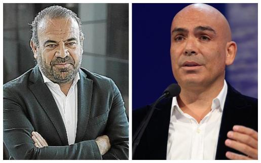 Gabriel Escarrer y Kike Sarasola.