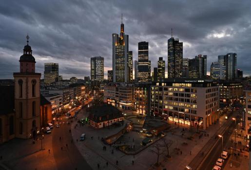 Imagen de la ciudad de Frankfurt, en Alemania.
