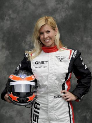 Fotografía de archivo, tomada el 15/03/2012, de la piloto española María de Villota, probadora de Marussia F1 Team.