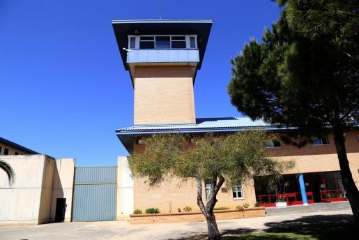 La cárcel de Palma, hace dos semanas.