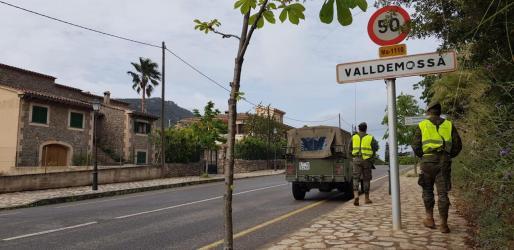 Imagen de Valldemossa en el estado de alarma.