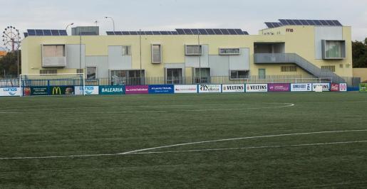 Imagen de la sede de la Federación Balear de Fútbol, en Son Malferit.