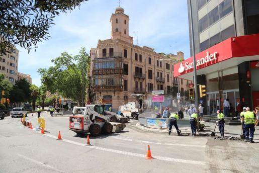 Las obras en la vía pública son una de las principales causas de ruido en la ciudades.