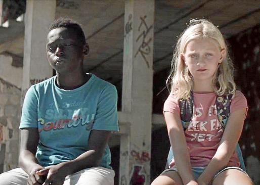 Los pequeños protagonistas de 'Pullman', de Toni Bestard, cinta estrenada solo en 'streaming' en Filmin.