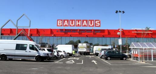 Vista de la tienda de Bauhaus en Marratxí.
