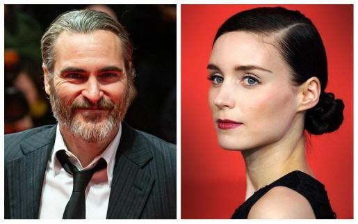 Joaquin Phoenix y Rooney Mara.
