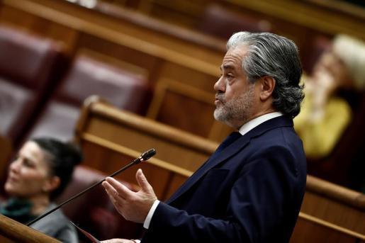 El diputado de Ciudadanos Marcos de Quinto durante el pleno celebrado este miércoles en el Congreso.
