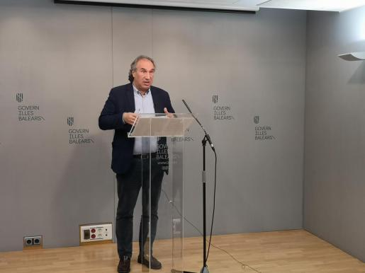 El conseller de Educació i Universitat Martí March.