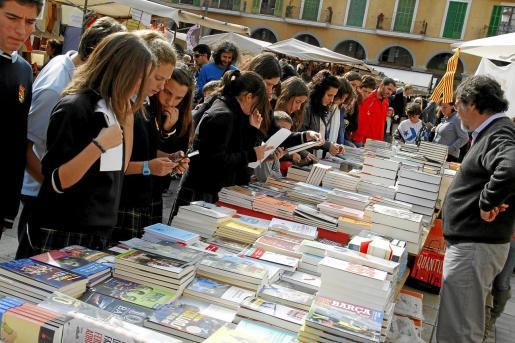 Los libros saldrán a la calle en julio con motivo de esta fiesta de los libreros.