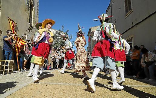 Los Cossiers siempre salen cada año el día del pregón, el último viernes del mes de mayo.