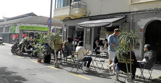 El Ajuntament de Palma afirma que la ciudadanía ha acogido muy bien esta medida de ampliación de terrazas.