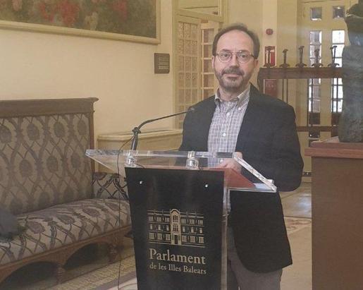 El diputado Josep Castells considera que el Decreto ley 8/2020 «vulnera de forma clara y manifiesta esta norma estatutaria».