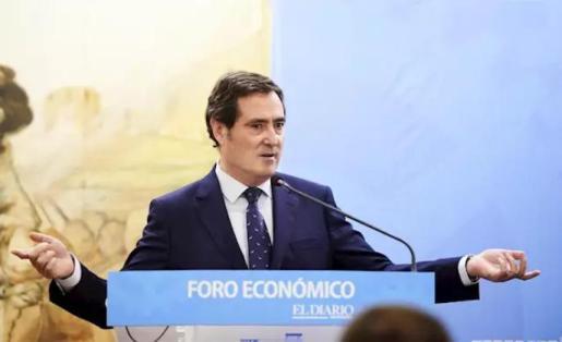 El presidente de la patronal CEOE, Antonio Garamendi - Juan Manuel Serrano Arce - Europa Press - Archivo