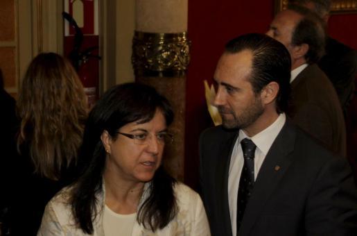 José Ramón Bauzá y Carmen Castro, en una imagen de archivo.