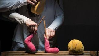'Història d'un mitjó', un espectáculo de calcetines en el Principal