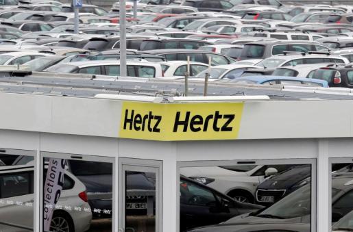 Imagen del logo de Hertz.